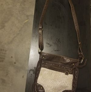 Crossbody brown purse